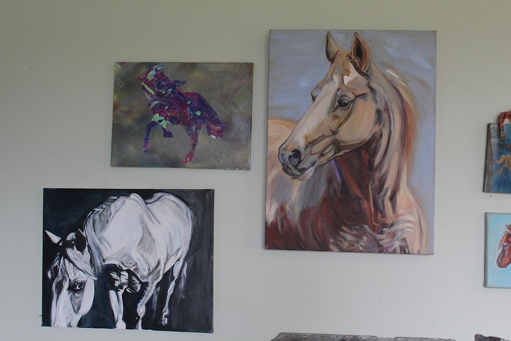 Equine artwork by Sue Steiner