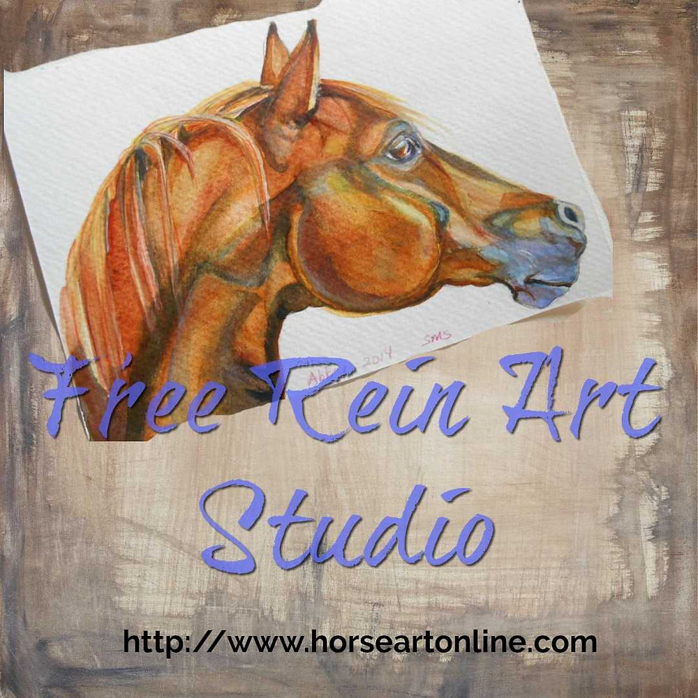 Horse and Pet Portraits in watercolor, oil or pastel