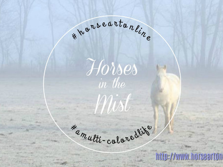 Horses in the Mist Photography