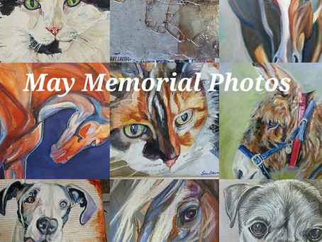 May Memorial Pet or Horse Painting Contest on Facebook