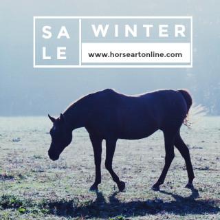 Winter Sale! Horse Art Online!