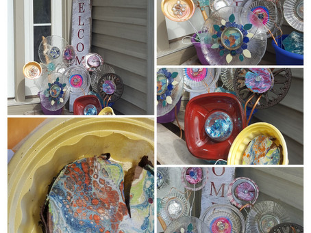 Recycled Art Flower DIY