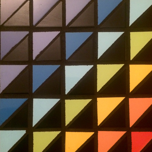 An example of color, texture and movement through tile.