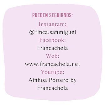 PUEDEN SEGUIRNOS_ Instagram_ @finca.sanm