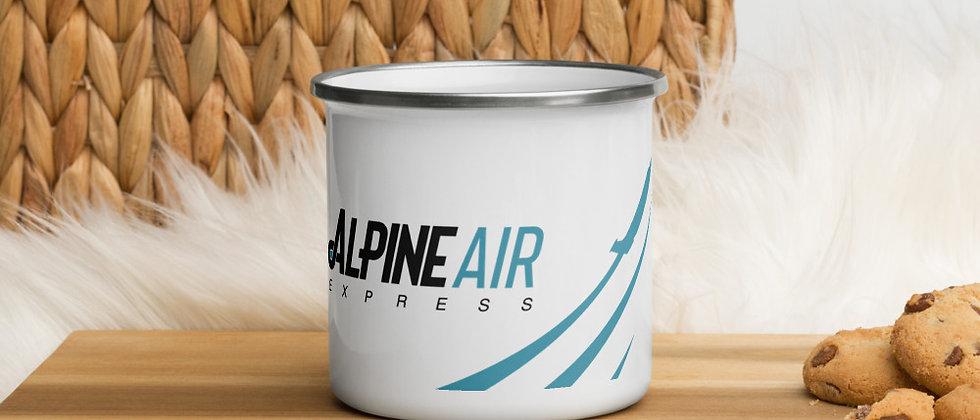 Alpine Air Enamel Mug