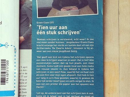 Een werkplek-interview in het CM-magazine