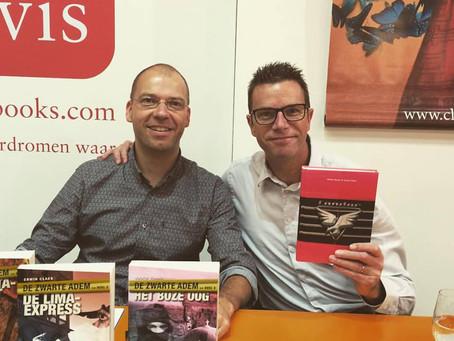 Signeren met Walter Baele op de Antwerpse Boekenbeurs