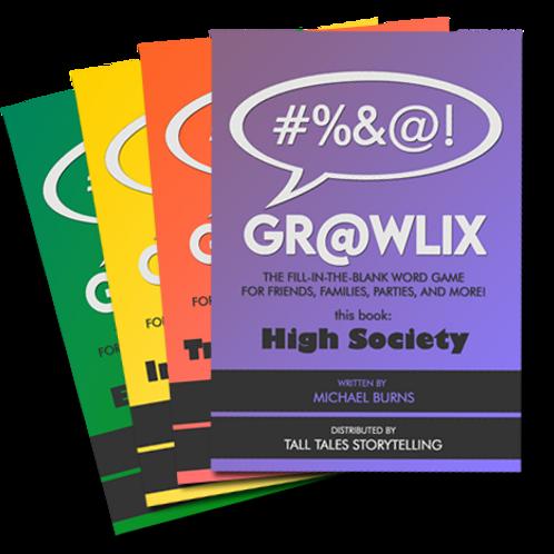 4 Grawlix Books