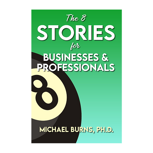 Autographed copy of The 8 Stories for Businesses & Professionals