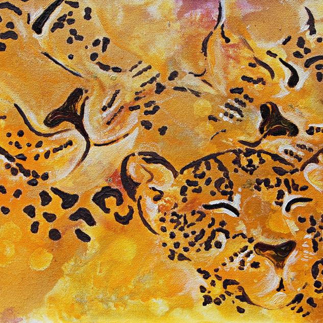 Three Leopards