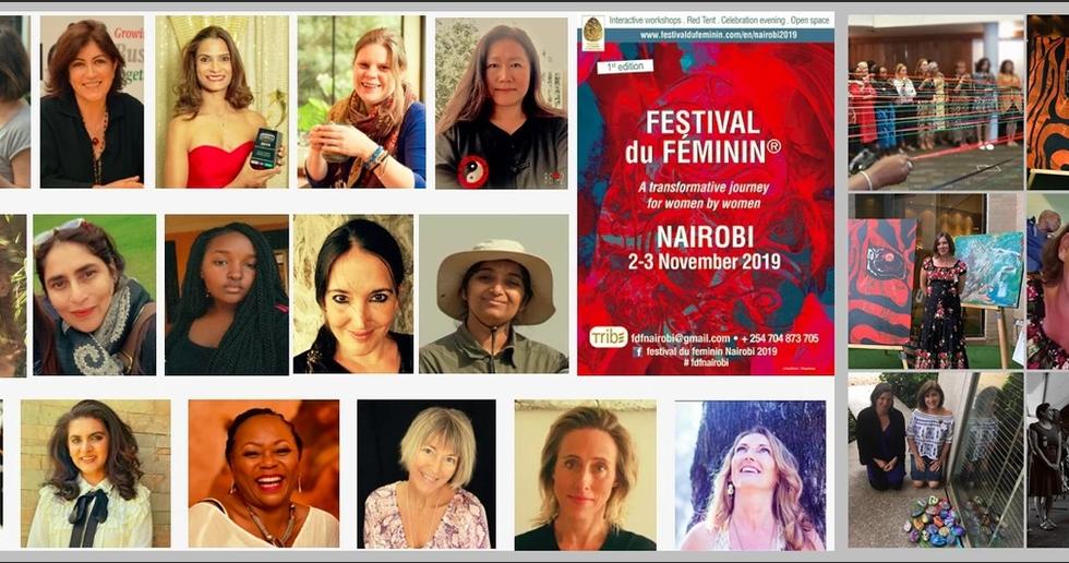 Festival Du Feminin Nairobi, Nov 2019