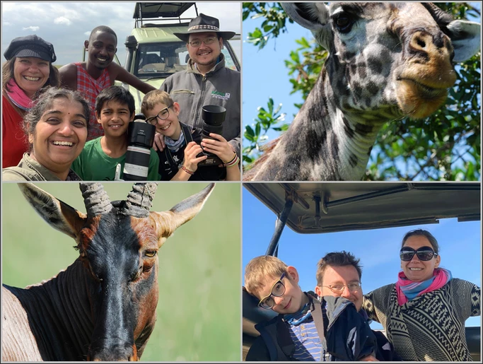 Wonderful Safaris with Friends, Thank You Usha, Dec 2019