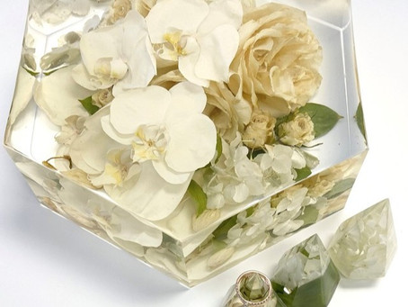 Pros & cons of Pressed Pieces vs Resin Floral Blocks