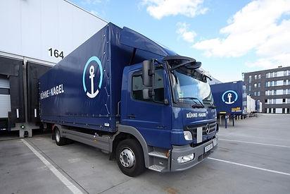 Kuehne + Nagel Lorry