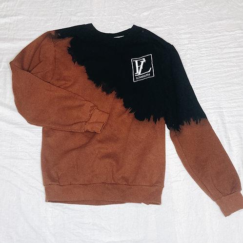 Lowfaith - Bleach Dyed Crewneck Sweatshirt