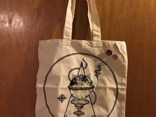 No Sun Emblem Tote Bag