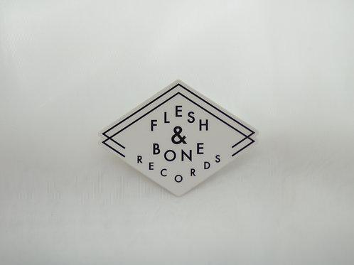 Flesh & Bone Records Sticker