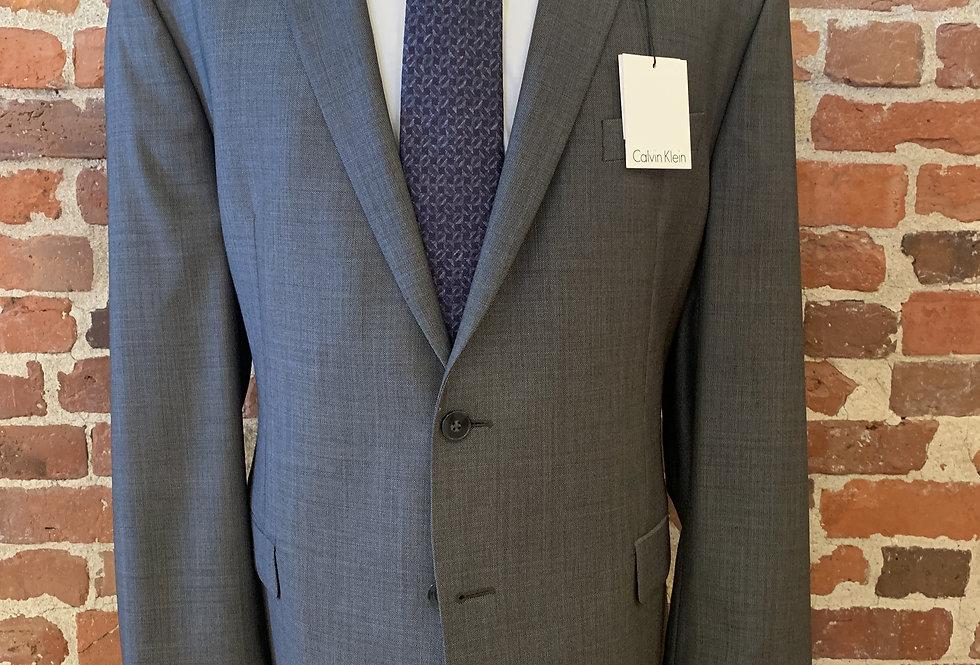 Medium Grey Wool Suit
