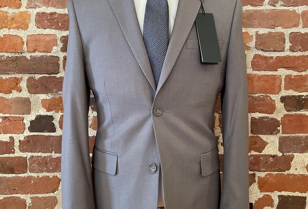 Light Grey Polyester Blend Suit