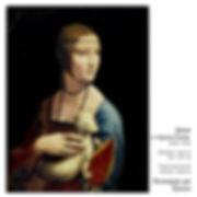 6. Леонардо да Винчи, «Дама с горностаем