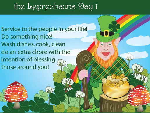 7 days of Abundance with the Leprechauns