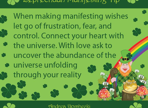 Manifesting with the Leprechauns!