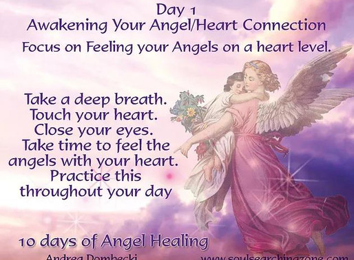 10 Days of Angel Healing