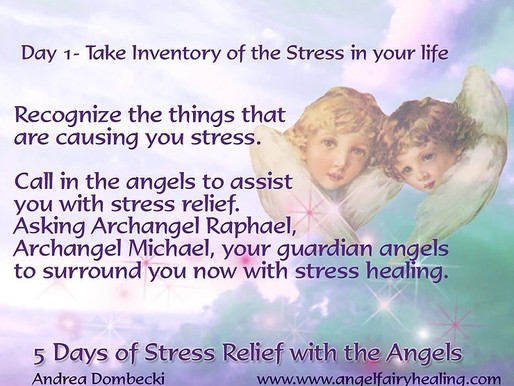 5 days of Stress Relief with the Angels.