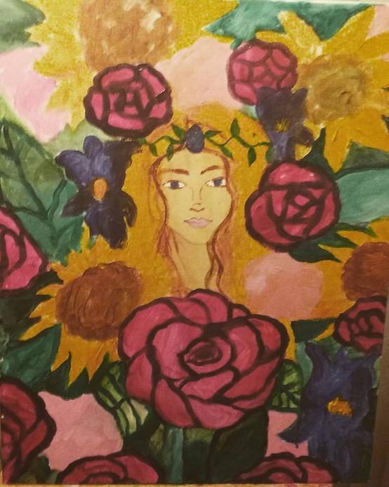 Goddess of the Flowers