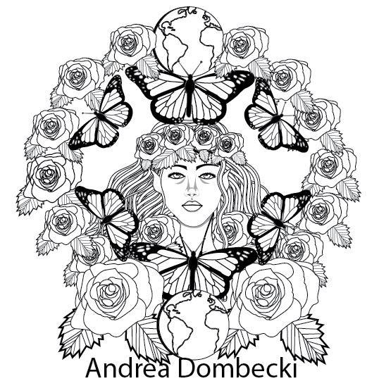 The Flower Fairy Mandala Coloring Book