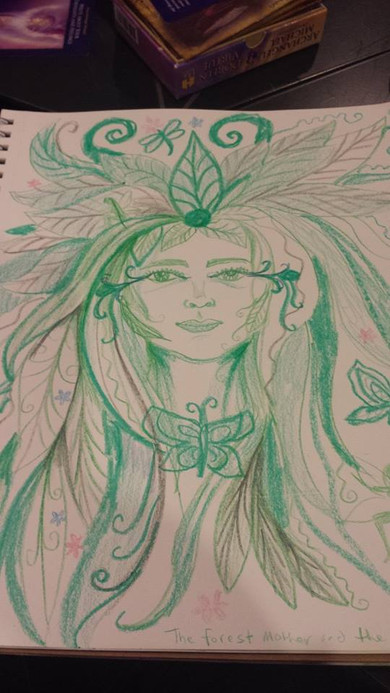 Forest Queen and the Pixies