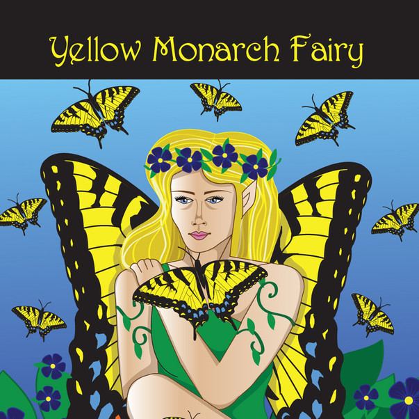 The Yellow Monarch Fairy