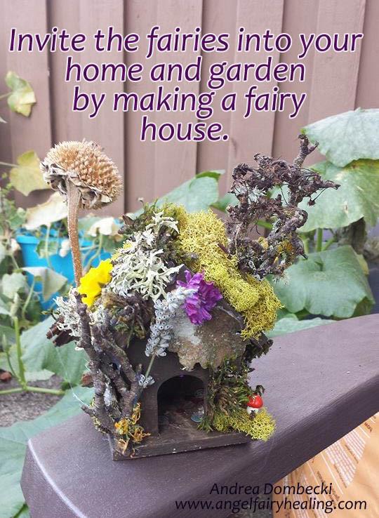 Making Fairy Houses