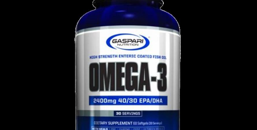Gn Omega-3 Enteric Coated Fish Oil 60 Softgels