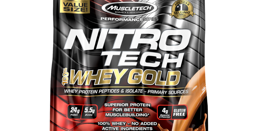 Mt Nitro-Tech Whey Gold 8 Lbs