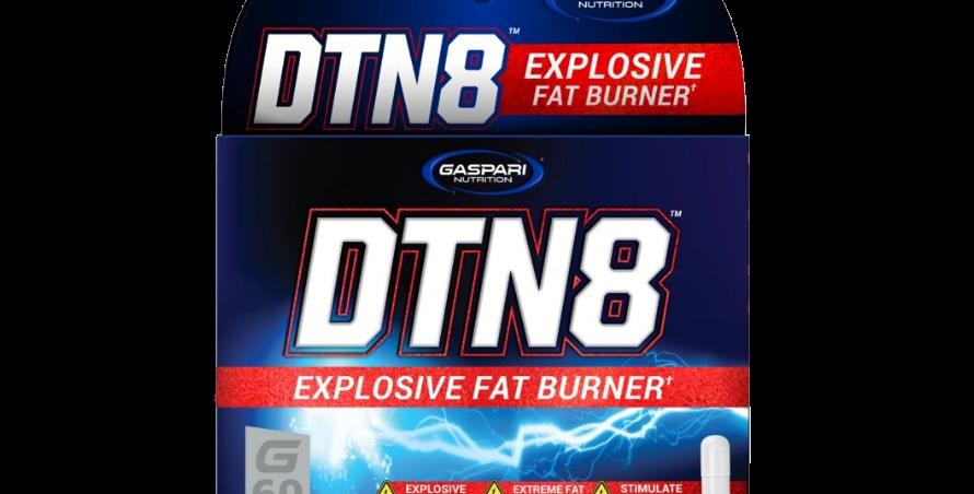 Gaspari Nutrition Dtn8 Extreme Fat Burner 60 Caps