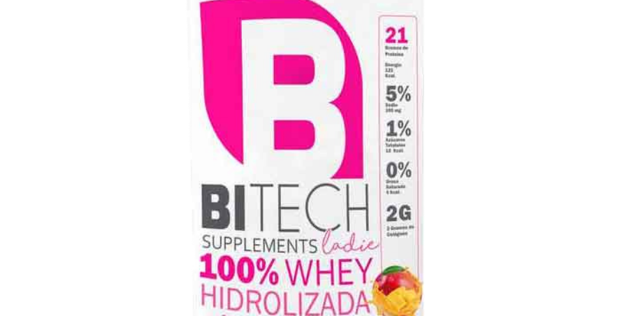 Bitech Ladies 100% Whey 2.2 lbs