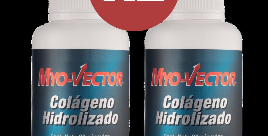 Pbs Myo-Vector Colageno Hidrolizado 2 Frascos 90 Caps