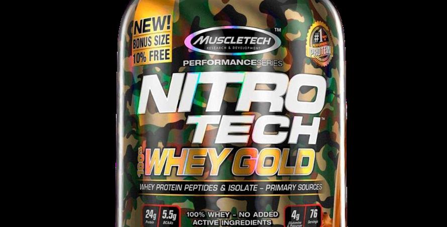 Mayoreo Mt Nitro-Tech Whey Gold 5.53 Lbs