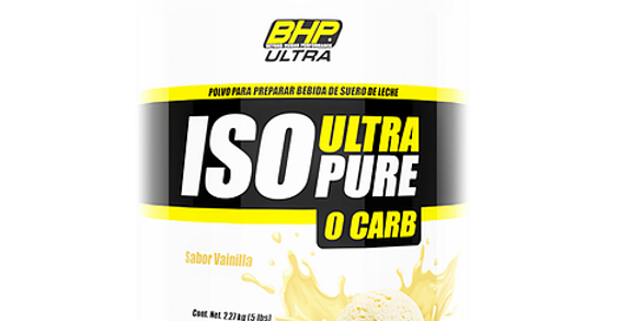 Bhp Iso Ultra Pure 0 Carbs 5 Lb