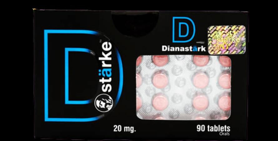 Starke Dianastark 20mg 90 Tabletas