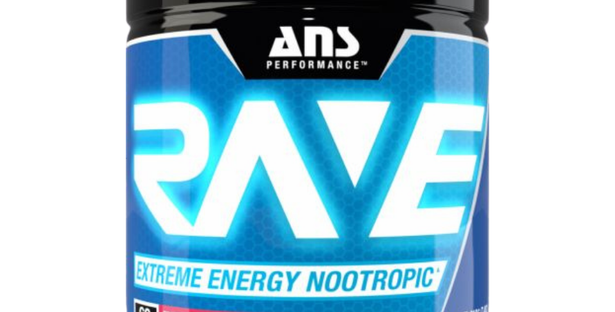 Ans Rave-Energy Nootropic 60 Serv