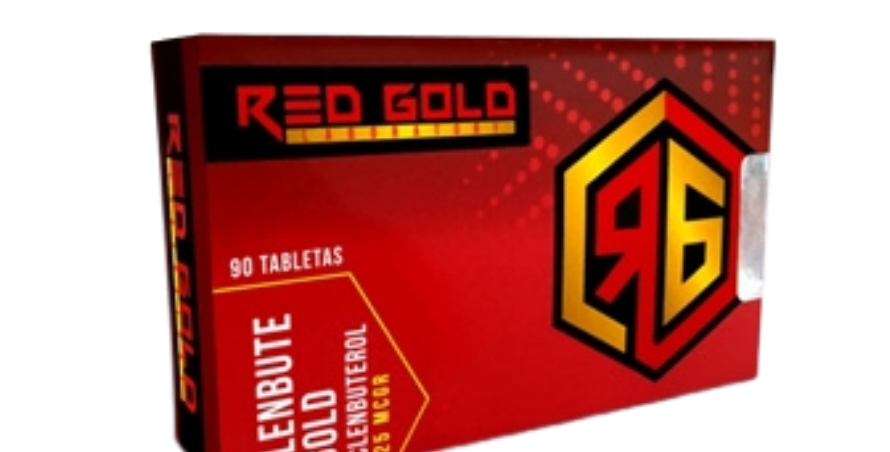Red Gold Clenbute Gold 25mcgr-90 Tabs