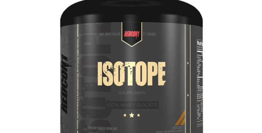 Redcon1 Isotope 100% Whey Isolate 5 Lbs