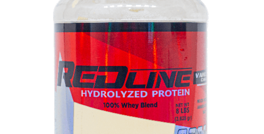 Red Line Hydrolized Protein 8 Lbs