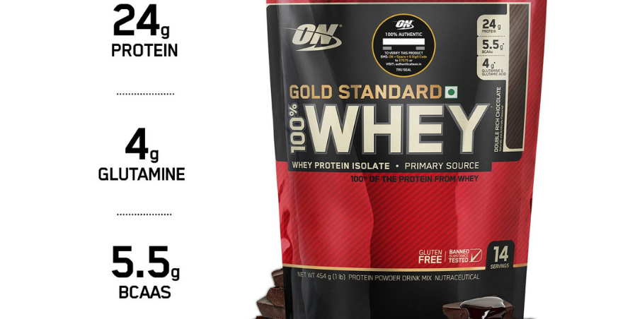 Proteina On 100% Whey Gold Standard 1 Lb
