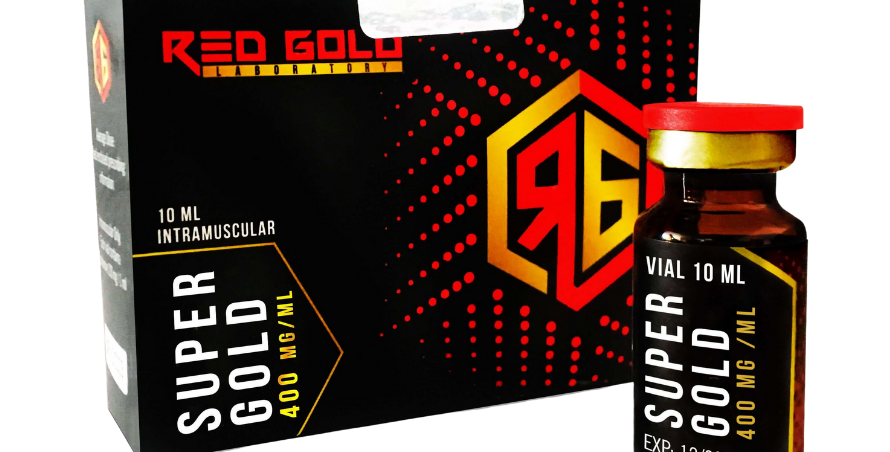 Red Gold Super-Gold Enantato De Testosterona 400mg/10ml