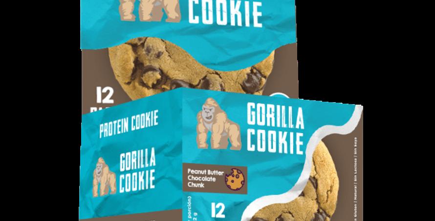 Fit Gorilla Cookie 12 Pack