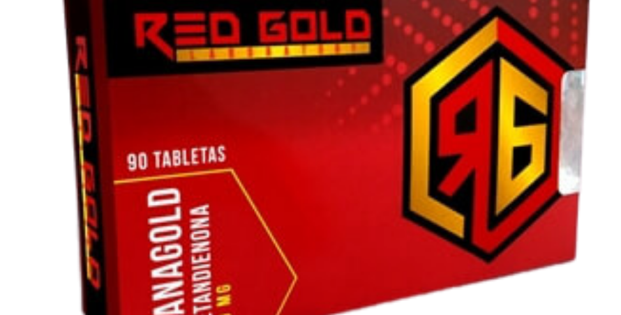 Red Gold Oxy-Gold Oximetalone 50mg/90tabs