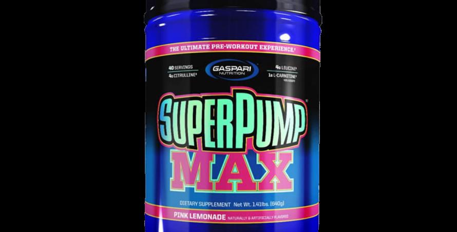 Gaspari Nutrition Super Pump Max (40 Serv)